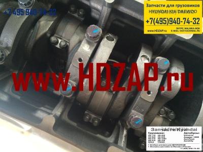 2100183800, Блок двигателя HYUNDAI D6AC/D6AV/D6AB всборе, 21001-83800