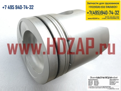 2341183802,Поршень двигателя HYUNDAI HD170/250/260/Gold D6A,23411-83802
