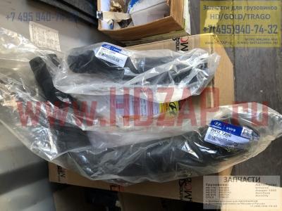 254127J000,Патрубок радиатора HYUNDAI D6HA,25412-7J000