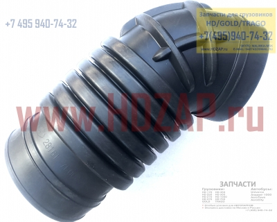 281617C500,Патрубок от фильтра воздушного к мотору HYUNDAI,28161-7C500