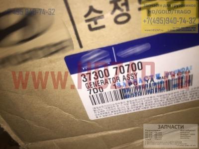 3730070700,Генератор HYUNDAI D6CA грузовик Mobis,37300-70700