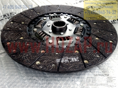 411007B011,Диск сцепления Hyundai HD170,41100-7B011