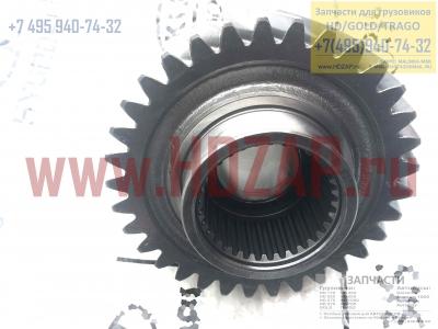 538357F230,Шестерня дифференциала межосевого Hyundai HD/Gold/Trago,53835-7F230