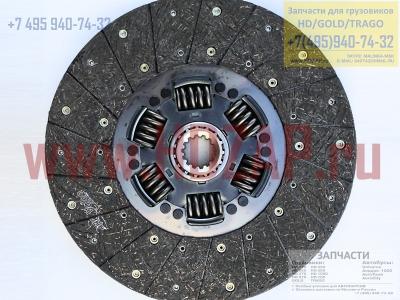 411008A205,Диск сцепления Hyundai D6CA HD250/260/450/Gold/Trago,41100-8A205