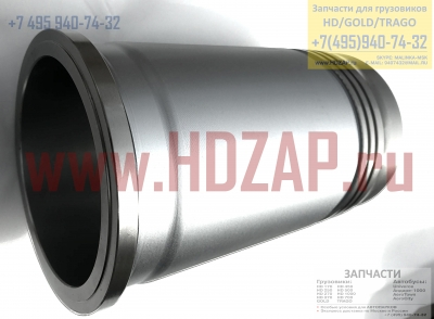 2113183012,Гильза поршневая Hyundai D6AB/AC/AV 6D22,21131-83012