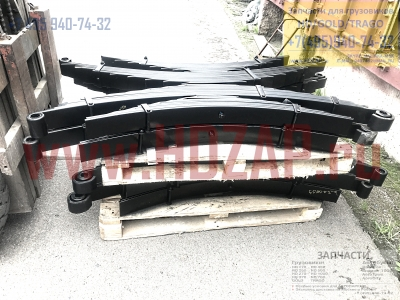 5510069001,Рессора задняя с подрессорником Hyundai HD170,55100-69001