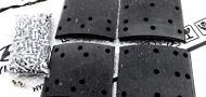 Тормозные накладки комплект передние и задние HYUNDAI HD450