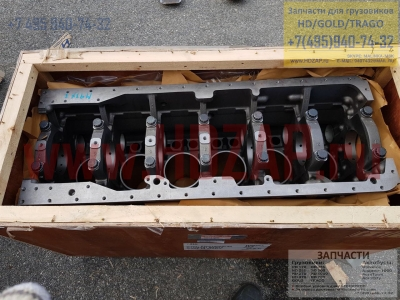 XKBH01544,Блок двигателя HYUNDAI D6AC экскаватор,XKBH-01544