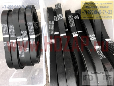 2521084400, Ремень генератора HYUNDAI D6C HD500,25210-84400