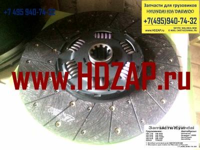 3312000280, Диск сцепления 16 шлицев DAEWOO Novus (DV11,DV15) VALEO PHC DW-52, 33120-00280