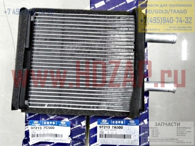 972137C500,Радиатор печки салона HYUNDAI HD500,97213-7C500,