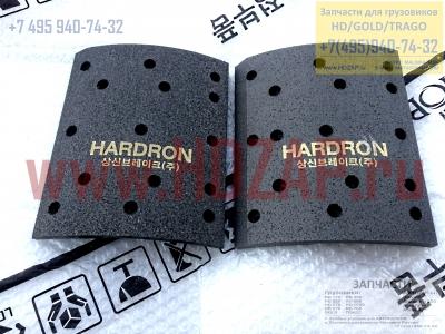 583437J500 Накладка тормозная задняя 220mm (R2, 15 отв) Hyundai HD 170/500/250/270 58343-7J500