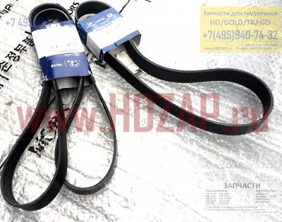 2521384400, Ремень приводной HYUNDAI D6C HD500,25213-84400